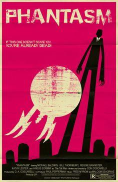 Phantasm horror movie poster