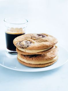 peanut butter choc chip cookies from donna hay