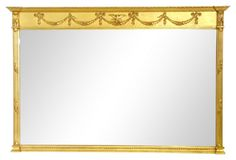 Giltwood Regency-Style Mirror