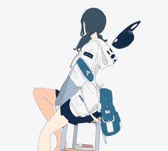 Cartoon Kunst, Cartoon Art, Art And Illustration, Anime Art Girl, Manga Art, Cute Anime Character, Character Art, Aesthetic Art, Aesthetic Anime