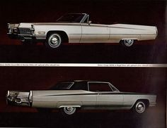 1968 Cadillac deVille Convertible and Coupe deVille