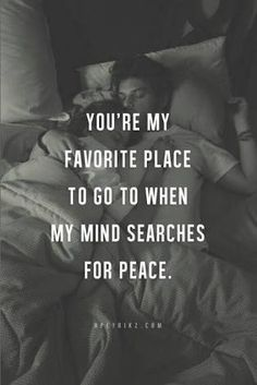 you're my favorite place