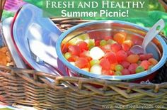 Fresh and Healthy Summer Picnic | Healthy Ideas for Kids