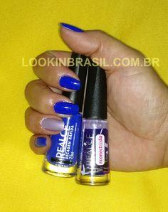 Esmalte Realce Dailus - 241_It Blue e In Love da Coleção Conectada - Formam uma bela dupla!!!