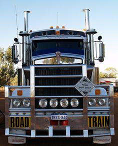 ✿ڿڰۣ(̆̃̃ღAussiegirl.  Australian Truck by tigerpac, via Flickr