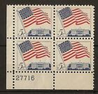 U.S. 1963 Flag Issue SG1211 MNH Corner Block with Sheet No. - http://oddauctions.net/stamps/u-s-1963-flag-issue-sg1211-mnh-corner-block-with-sheet-no/