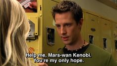 STAR MARS- LOGAN STRIKES BACK -  yes that was cheesey. but I still like veronica mars.