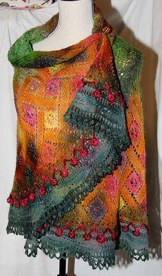 Ravelry: Project Gallery for Spring into Summer KAL (Garden Gate Shawl) pattern by Lynette Meek