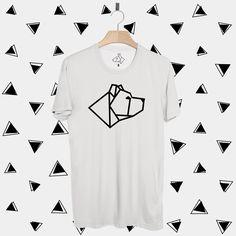 Camiseta Pit Bull Geometric. Disponível em diversos modelos e cores lá no nosso site!