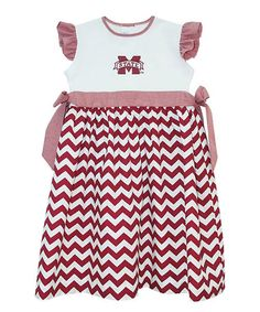 Mississippi State Infant And Toddler Dress By Lalunababybotique