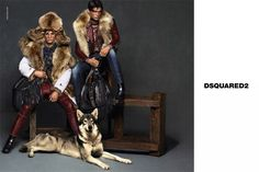 First Look: Dsquared2 Fall/Winter 2015 Campaign