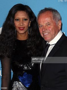 Celebrity chef <a gi-track='captionPersonalityLinkClicked' href=/galleries/search?phrase=Wolfgang+Puck&family=editorial&specificpeople=157523 ng-click='$event.stopPropagation()'>Wolfgang Puck</a> (R) and wife designer <a gi-track='captionPersonalityLinkClicked' href=/galleries/search?phrase=Gelila+Assefa&family=editorial&specificpeople=227001 ng-click='$event.stopPropagation()'>Gelila Assefa</a> attend the MOCA Gala 2015 presented by Louis Vuitton at The Geffen Contemporary at MOCA on May…