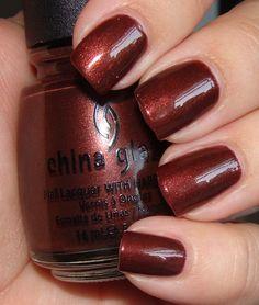 China Glaze Unplugged - Perfect polish for the Fall season.