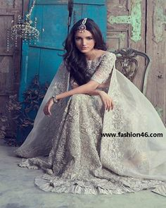 Latest Bridal Dresses 2014 for Women by Elan