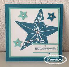Papierdesign met Stampin' Up!: Bijdrage SU-per challenge # 18 Kleurenchallenge www.papierdesign.nl
