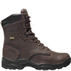 483007 LaCrosse Men's Quad Comfort 4X8 Safety Boots - Brown www.bootbay.com