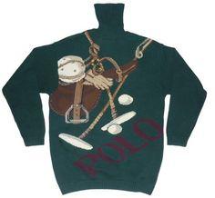 Vintage Polo Ralph Lauren Polo Sport Sweater Moda Pija Para Hombres 77c213b6f45