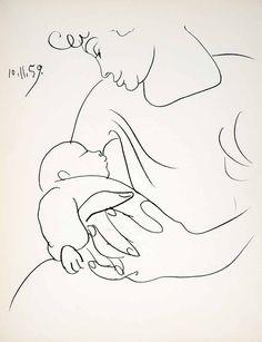 Pablo Picasso 10 Nov,1959