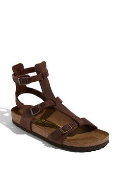 Birkenstock 'Chania' Sandal! I wanted them to make these in white for the wedding reception...now added to my wish list for summer...