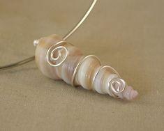 Tutorial DIY Wire Jewelry  Image    Description  Wire Wrapped Sea Shell Pendant by ShoreDebris
