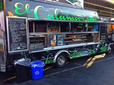 El Calamar food truck in San Francisco