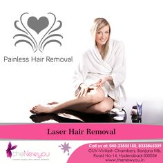 Say goodbye to the daily #hassle of #threading, waxing and #shaving with the permanent painless#LaserHairRemovalTreatment from theNewyou.
