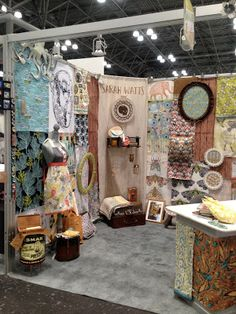 Sarah Watts-Surtex booth 2013