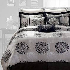 I pinned this Stephanie Comforter Set from the Beautiful Bed event at Joss & Main!