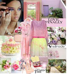 """Wonderful spring in pastel..."" by rakagard ❤ liked on Polyvore"