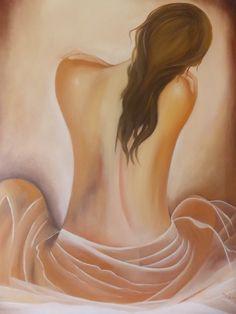 Mistério e suavidade no retrato da Mulher de Costas.