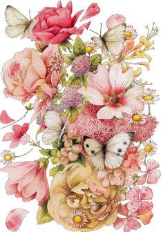 gifs de flores vintage - Pesquisa Google