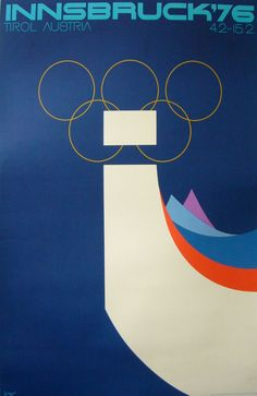 Type as slalom - ice cold! Winter Olympics, 1976 Innsbruck via Winter Olympic Games, Winter Games, Innsbruck, Vintage Ski, Vintage Travel Posters, Volleyball Posters, Sports Posters, Summer Olympics, How To Memorize Things