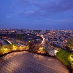 deck planting - contemporary landscape by Elad Gonen & Zeev Beech