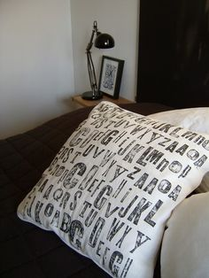 DIY Pillow  by Jenny's house
