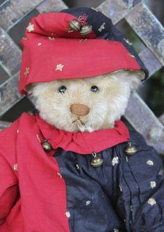 LOVELY RARE ANTIQUE WHITE STEIFF TEDDY BEAR c1907 FF BUTTON IN EAR! *NO RESERVE!