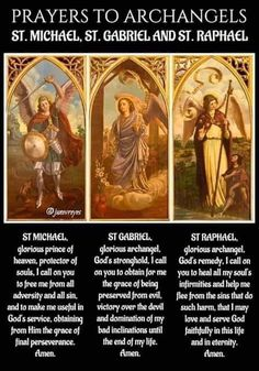 Don't question the board choice Catholic Archangels, Catholic Prayers, Catholic Saints, Archangel Prayers, Archangel Raphael, Raphael Angel, Prayers For Healing, Inspirational Prayers, Faith Prayer