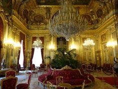 Salon of Emperor Napoleon III - the Louvre, Paris, France 2013