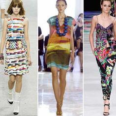 Algunos de los estampados que no puedes dejar de usar esta primavera 2014. #fashion #moda #print #trendalert #dress #vestidos #tipsdecamila #Padgram