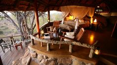 Kenyan safari camp in the luxurious British Colonial tradition.