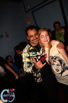 Foto con Fan
