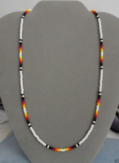 Beaded Necklace ~ Mens, Womens ~ Native American Made ~ All Sizes
