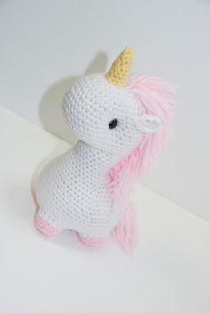 Cute Unicorn by Heartstringcrochet
