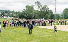 Bergmannsfest in Lehesten/Thür. Wald am 2.7.2017. Veranstaltungen rund um den Lunapark. Hier: Am Sportplatz vor dem Spiel. Dolores Park, Travel, Game, Round Round, Viajes, Destinations, Traveling, Trips