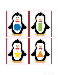 Penguins Shape Sort | Penguin Activities | Winter Activities for Preschool Sensory Activities For Preschoolers, Montessori Activities, Winter Activities, Preschool Music Lessons, Preschool Activities, Animal Pictures For Kids, Bee Coloring Pages, Shape Sort, Winter Crafts For Kids