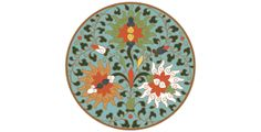 Beautiful Chinese circle ornament