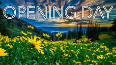 Opening Day is tomorrow!  The gondola runs from 10am-6pm Needles Lodge is serving lunch 11am-3pm and the Grizzly Center will be open for shopping and bike rentals on the lower trails. We hope to see you up here for the first day of summer! Please note that we are not allowing skis & snowboards on the gondola as a safety precaution and due to all the snow  mountain bikes will also not be permitted. . . #snowbasinsummer #snowbasinresort