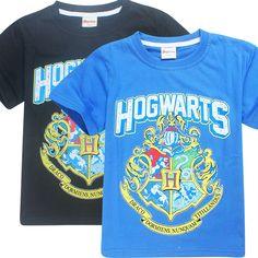 Harry Potter T Shirt Hogwarts Gryffindor Kids T Shirt Unisex Children