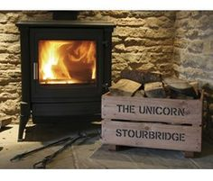 Keep your wood nice and tidy this winter - these printed log crates can be personalised with a message or the name of your pub. Christmas Gift Guide, Christmas Items, Open Fires, Summer Activities, Crates, Wood, Stove, Prints, Image