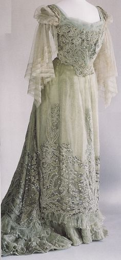 Charles-Frederick Worth Dress by Worth, c. 1900
