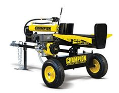 Champion Power Equipment Gas Log Splitter at Lowe's. The Champion Power Equipment 100251 horizontal/vertical full beam log splitter not only offers relief from the back-breaking work of splitting